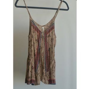 Free People One floral print camisole